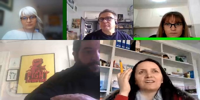 Monet project - Skype meeting of PPs